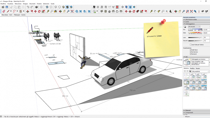 VIDEO-CORSO SketchUp Pro 2021 BASE (4 ore) 6