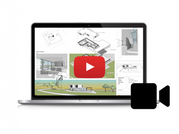 VIDEO-CORSO LayOut per SketchUp (5,5 ore)